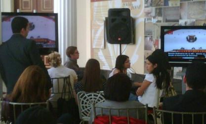 Acondicionado salón Francisco de Miranda para periodistas de los medios privados