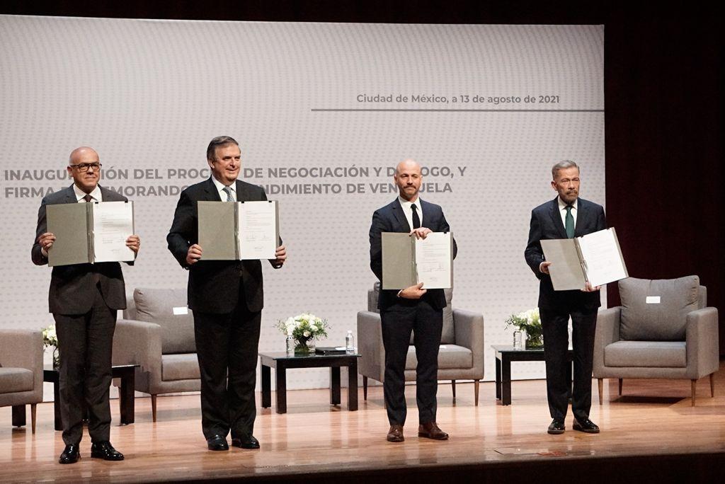 El pasado 13 de agosto se inició, en la capital mexicana, un nuevo proceso de negociación entre el gobierno y la oposición venezolana. Este sería el quinto proceso de negociación desde 2014.